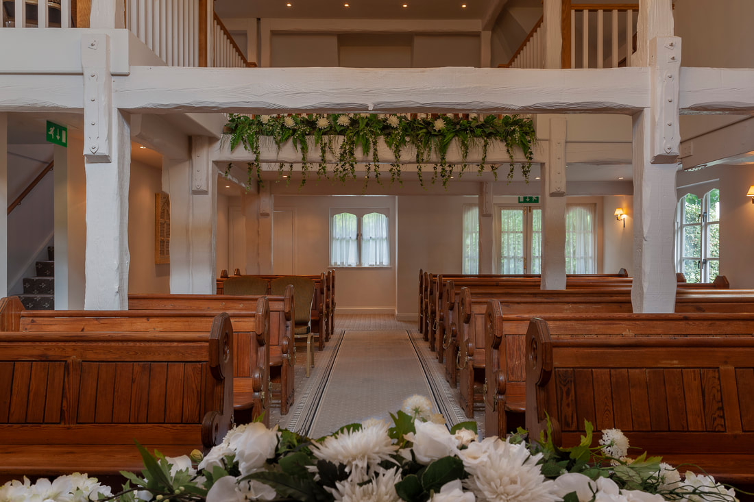 The Chapel at Orsett Hall Hotel in Essex, England