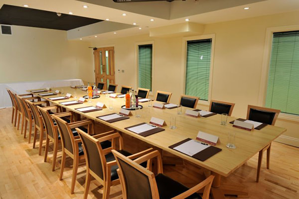 The Boardroom at Orsett Hall Hotel in Essex, England