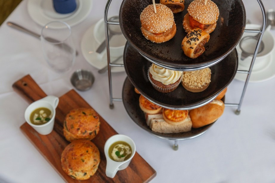 Savory Afternoon Tea at Orsett Hall